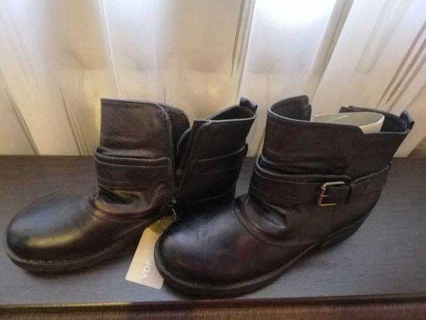Кожаные ботинки Via Di Fuga новые