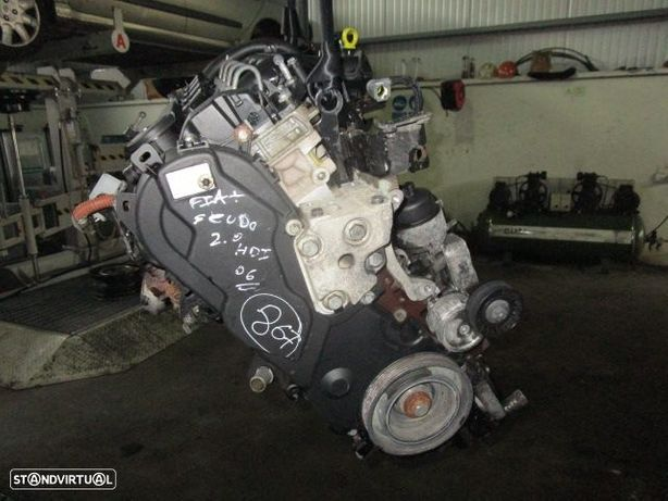 Motor diesel RHX FIAT / SCUDO / 2006 / 2.0 HDI / SIEMENS /