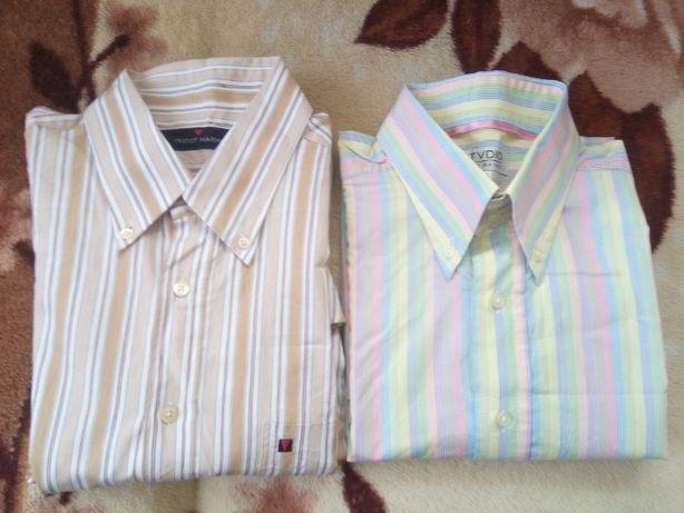 2 duże koszule XL+ gratis firmowa koszulka