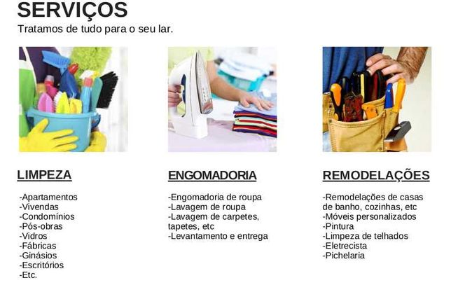 Empresa de Serviços/Limpeza Braga