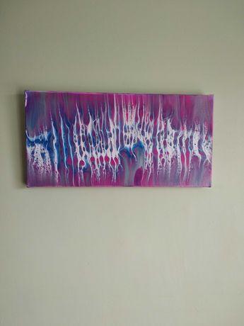 """Картина абстракція """"Білий шум"""""""