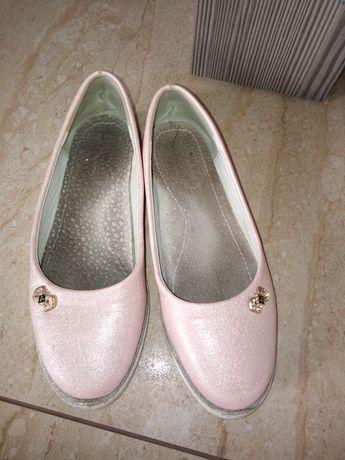 Balerinki w kolorze różowym rozmiar 31