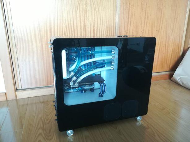 lian li v1010b - Projecto modding e watercooling (novo preço)