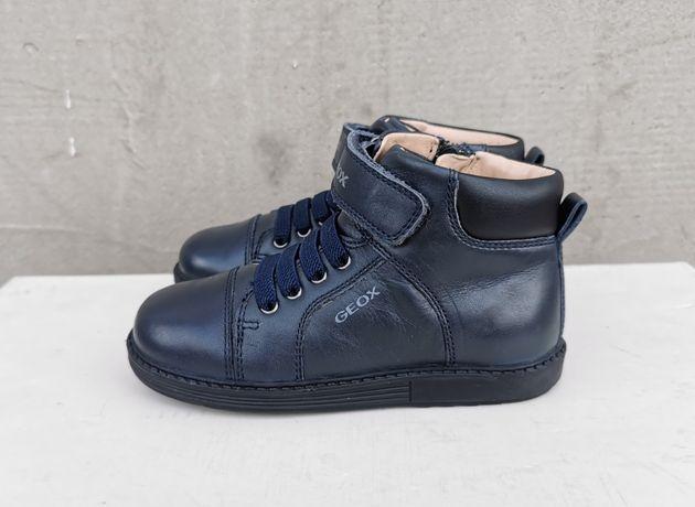 Кожаные демисезонные ботинки Geox 26 р.