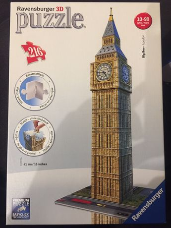 Puzzle 3d Big Ben 216 elementów