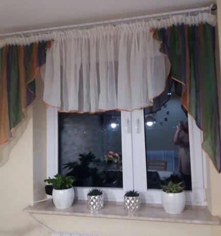 piękny lambrekin na okno 4m