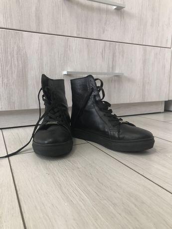 Кожанные осенние ботиночки - днепровский букин