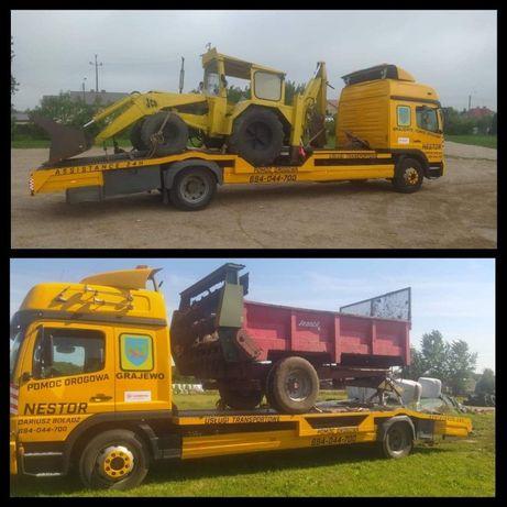 usługi transportowe do 12 ton pomoc drogowa 24H