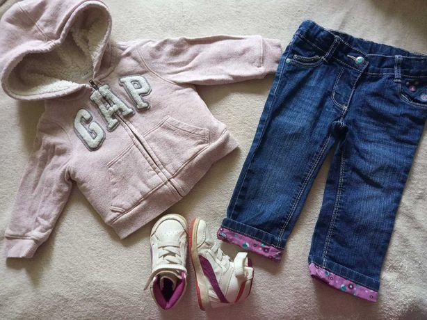 Пакет одежды на девочку 12-18 месяцев