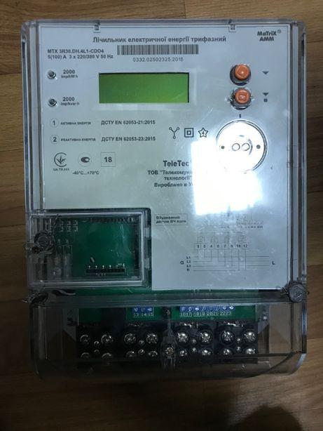 Счётчик электроэнергии MTX3R30.DH.4L1-CDO4 (реле) Teletec