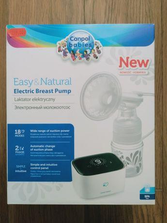 Laktator elektryczny Canpol babies Easy&Natural jak nowy