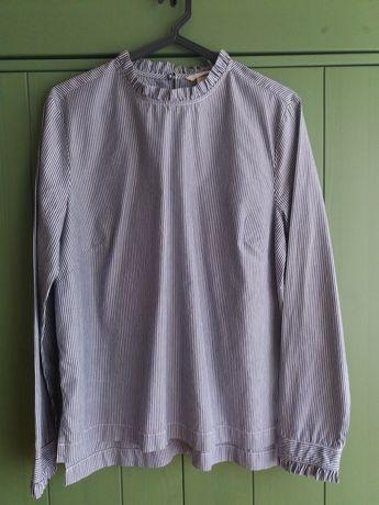 Camisa com folhos