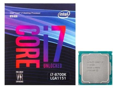 Processador Intel Core i7 8700k