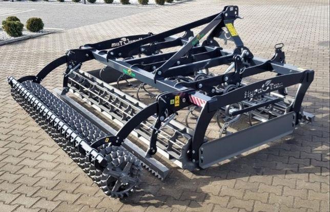 Agregat uprawowy AGRO-TOM kompaktowy 3m Crosskill Włóka Raty Transport
