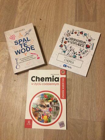 3 ksiazki o tematyce chemicznej