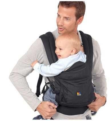 Mochila porta bebé 2 em 1