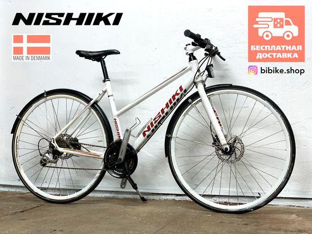 Городской велосипед Nishiki Гидравлика M женский гибрид дорожный