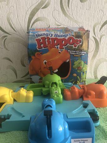Hungry hippos голодные бегемотики hasbro