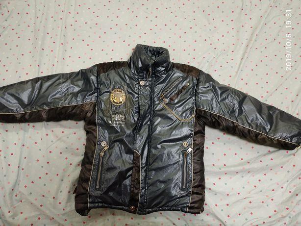 Куртка на мальчика на холодную осень
