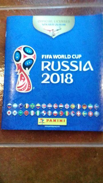 Caderneta do mundial da Russia de 2018 + cerca de 300 cromos