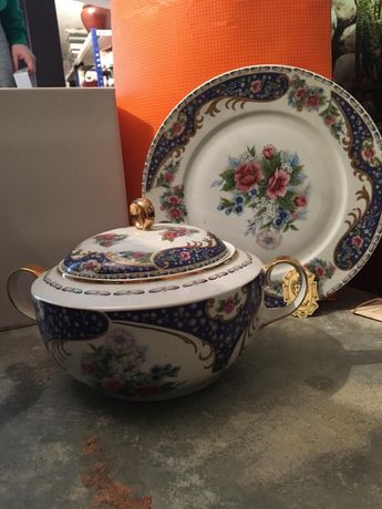 Conjunto de porcelana Limoges