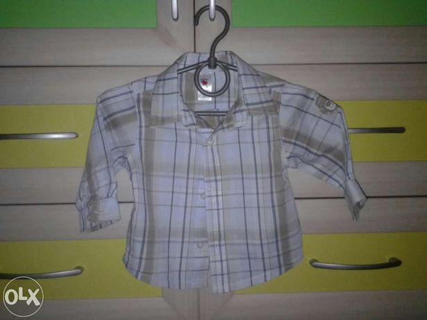 Рубашка х/б на мальчика рост 68 см