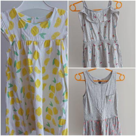 Zestaw 3 sukienke na lato 92