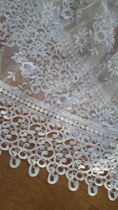 Biała piękna firanka Kielce - image 1