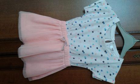Sukienka dla dziewczynki r. 74