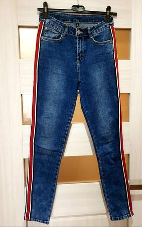 Jeansy nowe Moodo S spodnie