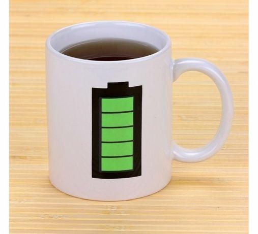 Чашки хамелеони батарейка