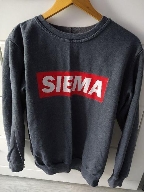 bluza z napisem Siema 164cm