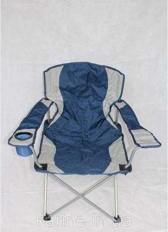 Стул кресло раскладное (Вояж) с подстаканником и подлокотниками