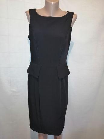 Классическое офисное платье Mark&Spancer с баской молния на спинке М