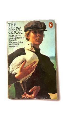"Книга оригинал ""The Snow Goose and The Small Miracle"" Paul Gallico"