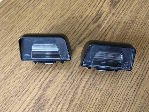 Lampy oświetlenia tablicy rejestracyjnej nowy Ford Transit