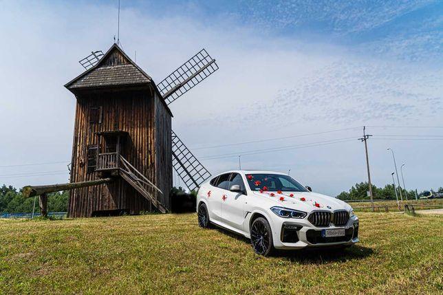BMW x6 Wynajem Auto Do Ślubu Na Wesele Z Kierowca,