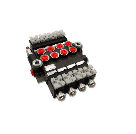 Rozdzielacz hydrauliczny 4 SEK 50L ELEKTRYCZNY 24V