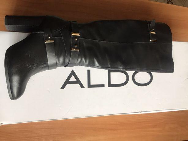 Сапоги ботфорты Aldo еврозима 37 размер