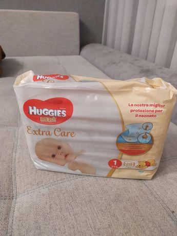 Подгузники HUGGIES extra care 1