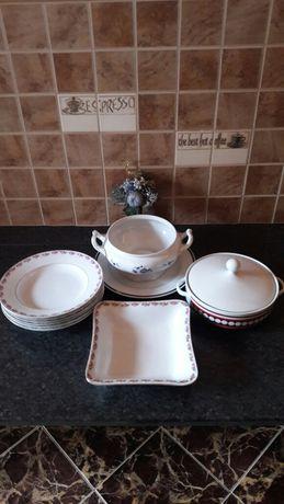 Посуда супница тарелки блюдо фарфор винтаж