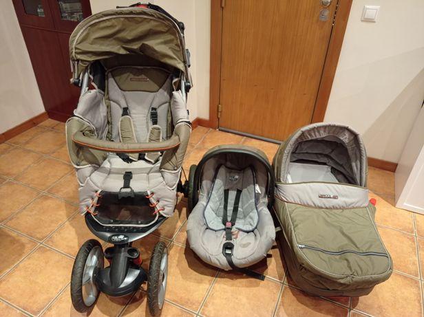 Carrinho  3 em 1 bebé Confort