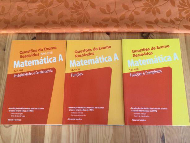 Questões de Exame Resolvidas - Matemática A