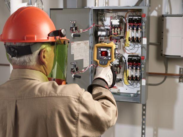 Услуга тепловизора в электрических и отопительных сетях