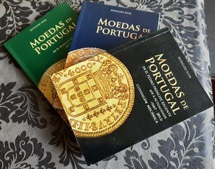 Moedas de Portugal Reinaldo da Silva 3 Volumes