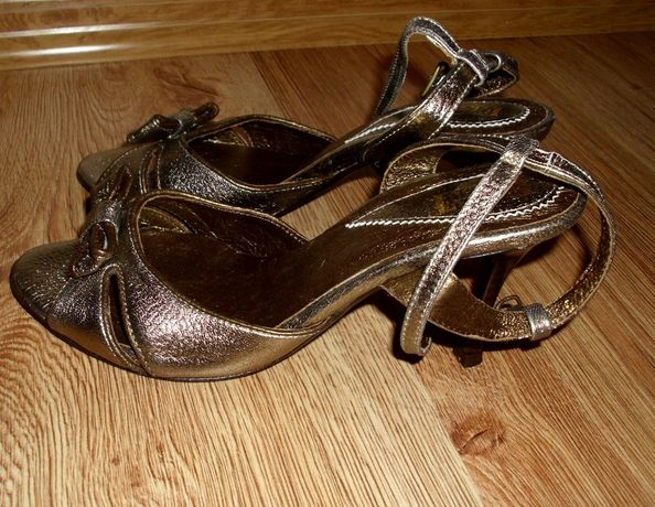 -50% okazja, nowe sandały ze skóry, buty marki Eksbut