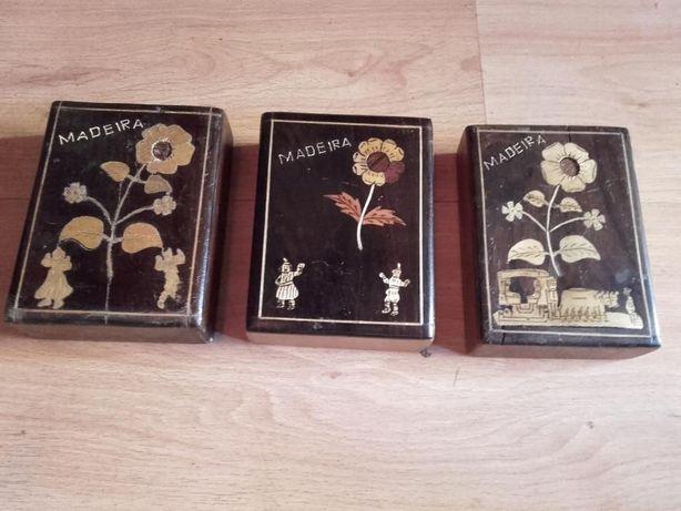 Caixas guarda jóias da Madeira