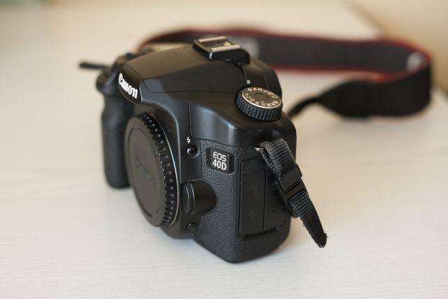 Canon EOS 40D z paskiem