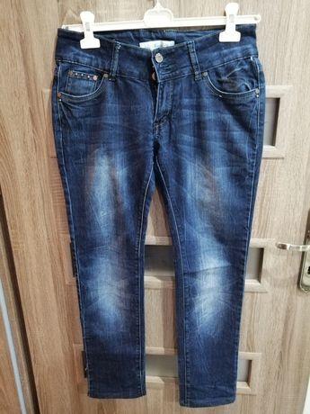 Zestaw Dżinsy damskie rurki, spodnie, legginsy rozmiar 38/M stan bdb