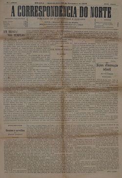 A Correspondência do Norte - jornal de Braga
